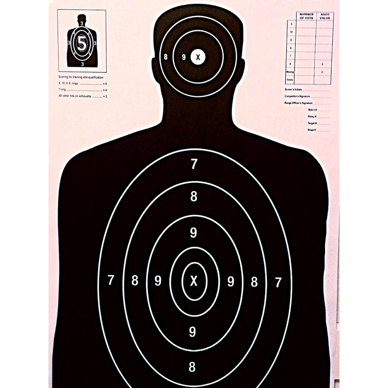 27 targets gt qty 50 b 27 black silhouette targets without arms