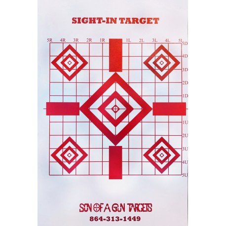 Precision Sight-In Targets